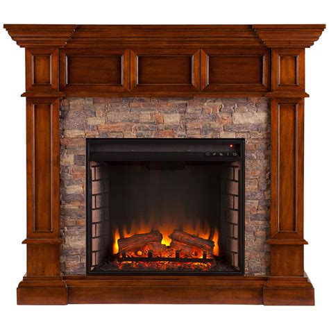Oak Electric Fireplace Southern Enterprises Merrimack Electric Fireplace Buckeye Oak 671476 Fireplaces At Sportsman