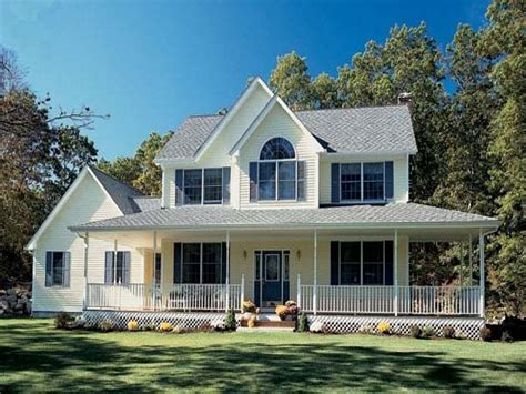 with wrap around porch southern style farmhouse plans