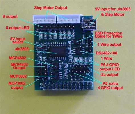 i2c protection diode pridopia raspberry pi spi ad da i2c 1 wire board