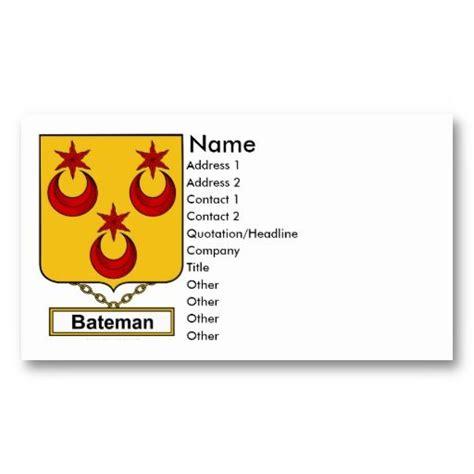 bateman family crest