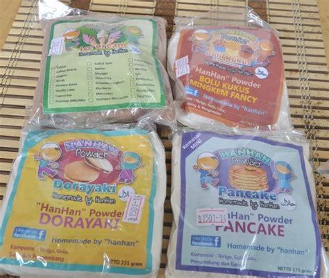 Premix Dorayaki resep emak dorayaki dengan tepung premix