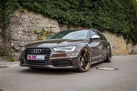audi a6 modified kw audi a6 avant with phone app adjustable suspension