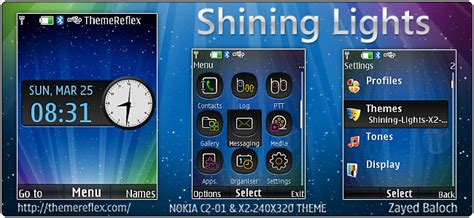 outlights live theme for nokia x2 00 c2 01 240 215 320 search results for download theme clock live 320 240 nth