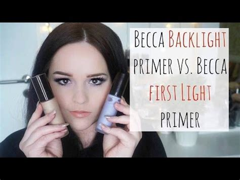 becca light primer becca light primer vs becca backlight priming