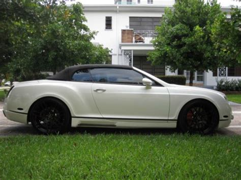 bentley gtc custom sell used 2007 bentley continental gtc mansory gt63