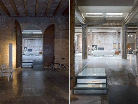 architectures modern loft with industrial bricks element barcelona printing press renovated into industrial chic