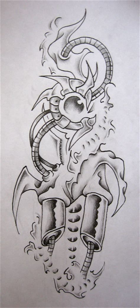 biomechanical tattoo drawings index of images 56