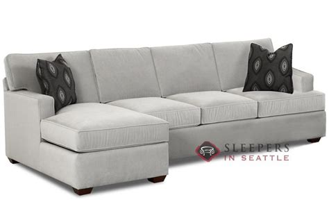Sleeper Chaise Sofa by Customize And Personalize Lincoln Chaise Sectional Fabric