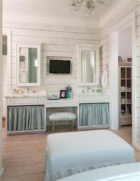 bahtroom fresh flower decor beside round sink under tiny bahtroom fresh flower decor on glass vase beside round