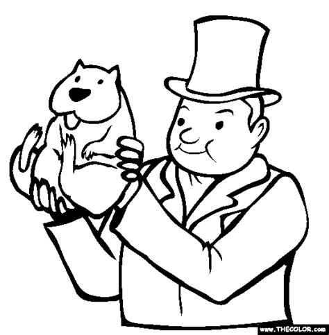 groundhog day coloring pages groundhog day coloring pages page 1