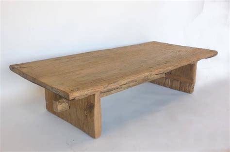 japanese elmwood coffee table at 1stdibs