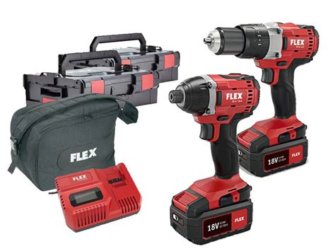 how to a l cordless flex flextwin 18v cordless drill and driver set l boxx