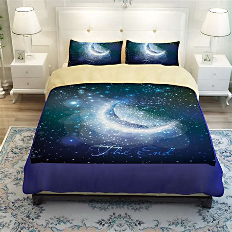 moon bed sheets modern luxury bedroom decorating ideas that is emitted from the blue bedding set fnw