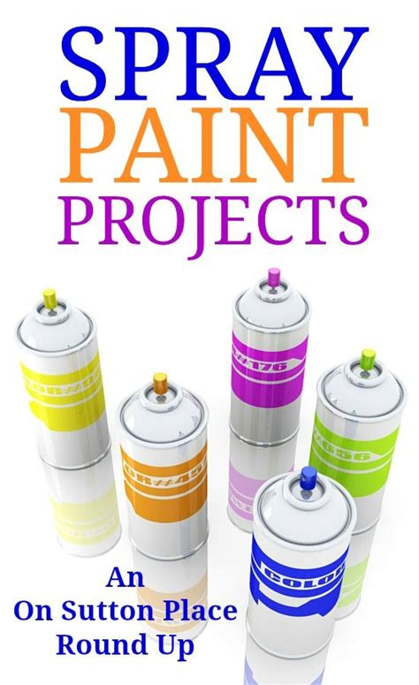 spray paint and craft 1000 ideas about spray paint crafts on