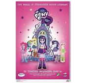 My Little Pony Equestria Girls Movie Poster 3  Apnatimepasscom