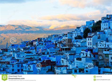 Blue City Morocco Medina Of Chefchaouen Morocco Stock Photo Image 50530436