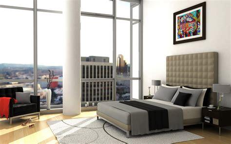 bedroom bed architecture interior design wallpaper