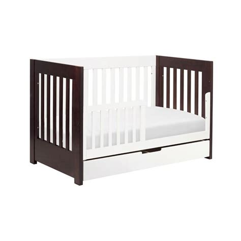 Babyletto Mercer 3 In 1 Convertible Wood Crib In Espresso Wood Cribs Convertible