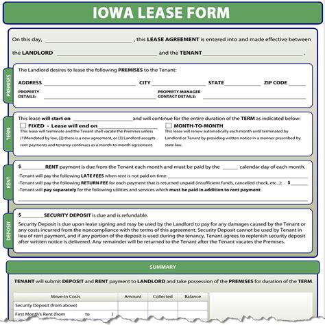 Property Manager Employment In Iowa Iowa Lease