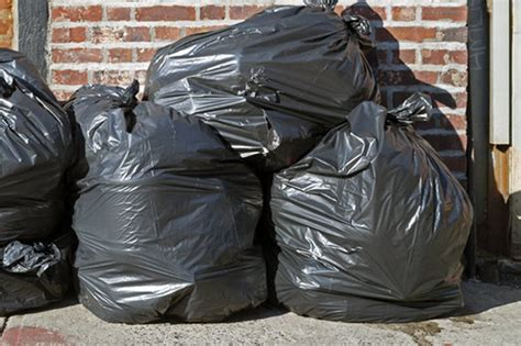 Bin Bag by Company Forced To Withdraw Bin Bag Collection Service
