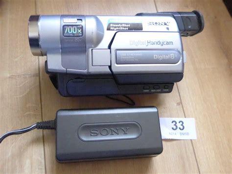 cassette videocamera sony handycam dcr trv245e 201 scope num 201 rique 8 cassette