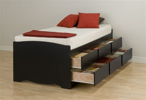 Full Size Platform Storage Bed - xl twin storage bed twin xl raised panel storage bed with 6 drawers retail price nutmeg