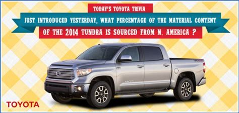 Toyota Facts Toyota Trivia 75 Car Facts