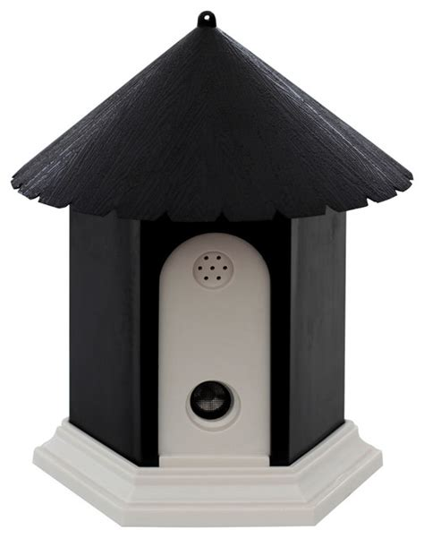 dog bark house oxgord ultrasonic dog anti bark control bird house birdhouses by oxgord