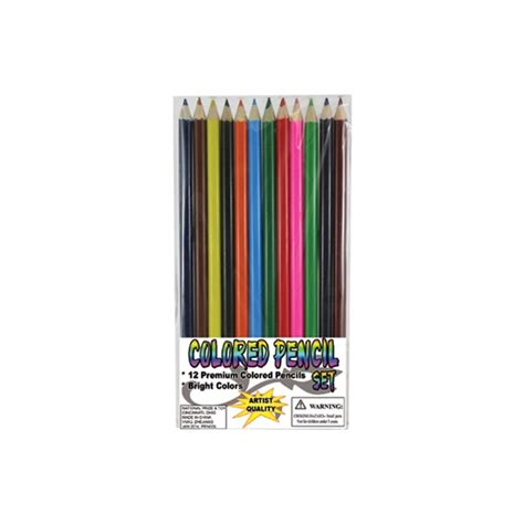 colored pencils set dozen 7 quot colored pencil sets 12 pencils per set