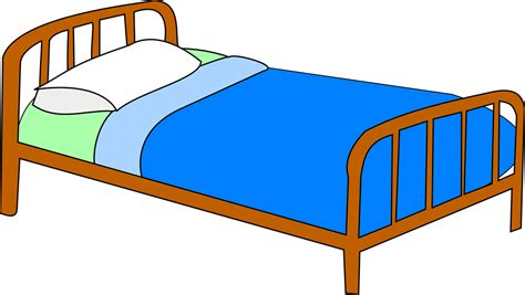 bett clipart free vector graphic bed hospital health free