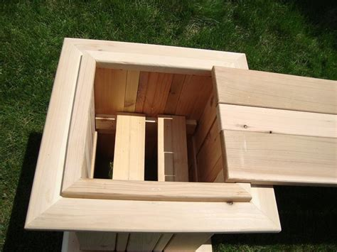 box benches diy flower box bench plans free