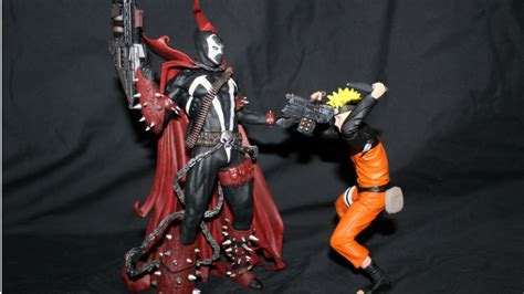 spawn v figure attack on titan spawn and more get colorful with