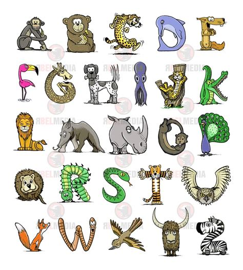 Animals With Letter S