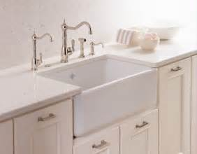 Kitchen Faucets For Farmhouse Sinks Rohl Shaws Classic Modern Apron Front Single Bowl Fireclay Kitchen Sink Farmhouse Kitchen