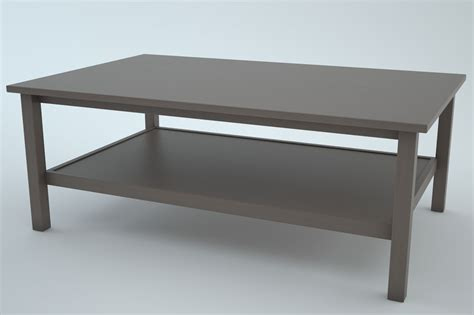 ikea hemnes coffee table 3 in1 3d models cgtrader
