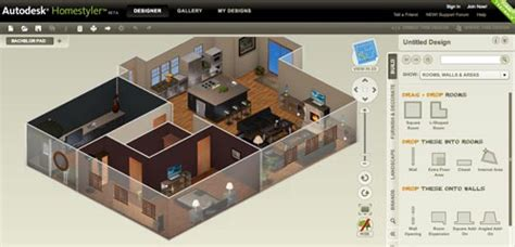 2d home design software free free floor plan design