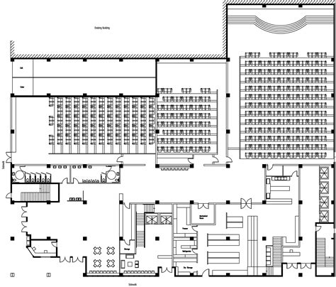 cinema floor plans preliminary floorplans nouveau cinema and hotel