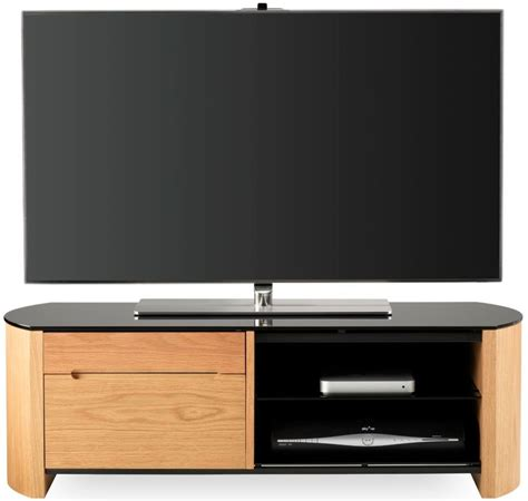 light oak tv cabinet buy alphason finewood light oak tv cabinet fw1100cb