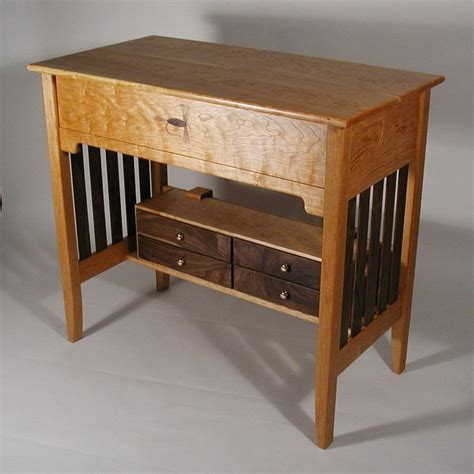 fly tying desk woodworking inspiration and ideas
