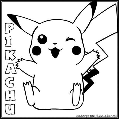 pikachu ex coloring pages coloriage pokemon pikachu 30 dessin gratuit 224 imprimer