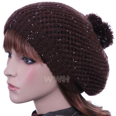 beret beanie hat knit winter cap be595b hats