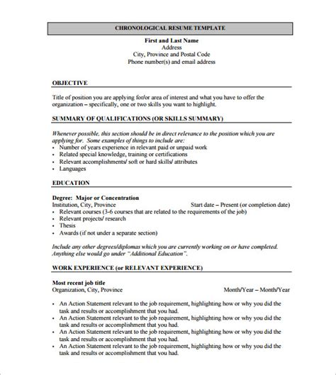 Resume Templates Pdf Resume Template For Fresher 10 Free Word Excel Pdf Format Free Premium Templates