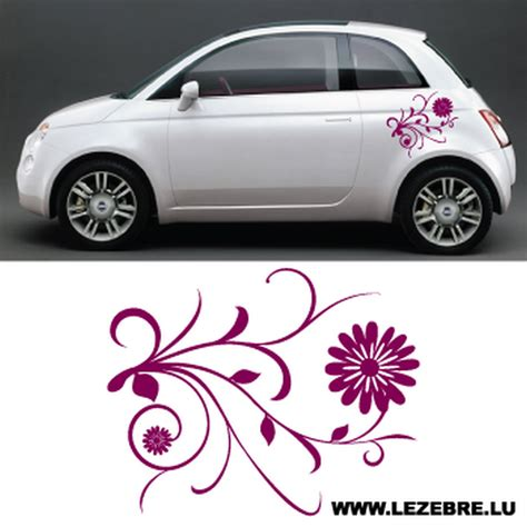 Deko Auto by Sticker D 233 Co Auto Fleurs 2