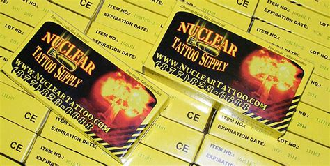 nuclear tattoo supply liner regular tight