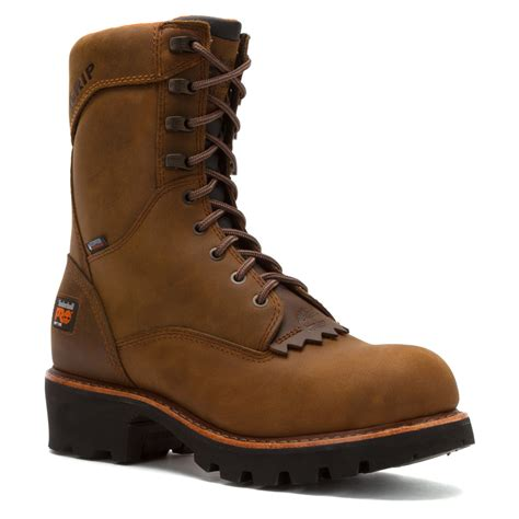 timberland logger boots s timberland 174 pro 9 inch rip saw logger boots 4140610