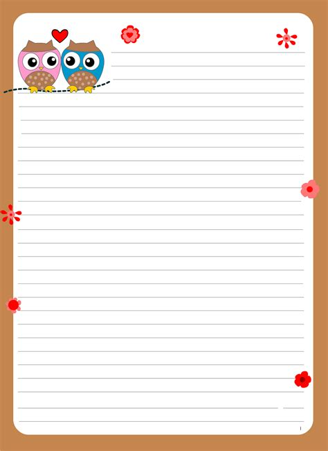 printable lined paper cute lined paper for writing for cute writing paper dear joya