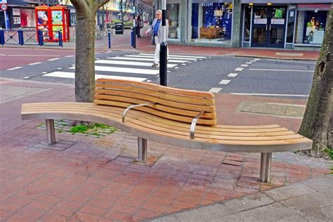 street furniture benches spline tree bench with back by factory street furniture