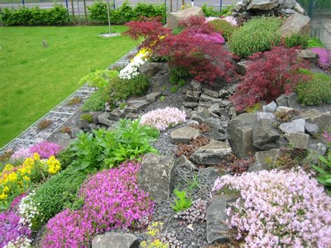ideen gestaltung steingarten steingarten anlegen