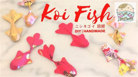 fish decoration for new year diy koi fish with pockets 利是封錦鯉 ニシキゴイcny deco crafts