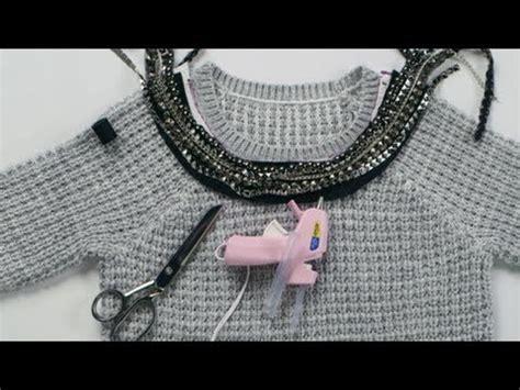 Fab Site Isaacmizrahinycom Fabsugar Want Need by Diy Fashion Jeweled Sweater Collar Fab Flash